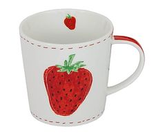Tasse Fashion Strawberry, 350 ml