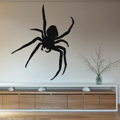 Wall Vinyl Decal Sticker Animals Insect Spider Tarantula Art Interior Decor m246
