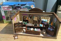 Vintage Tomy Sylvanian Families Village store - boxed