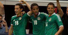 Giovanni colaboro con un golazo en la victoria de México de 2-0 sobre Brasil