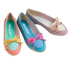 Spring Mocasa Loafers by Le Bunny Blue... perfect sherbet hues! @L E Bunny Bleu