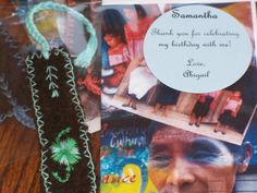 handmade bookmarks by mayan women