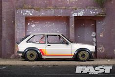 If someone asks you what 'retro' means, just show them Mike Johnson's modified Ford Fiesta - a sumptous slice of flame-spitting cool that reminds us not to take life quite so seriously. Toyota Starlet, Mk1, Bourbon Brands, Ford Motorsport, Ford Sierra, Race Engines, Ford Classic Cars, Car Engine, Car Brands