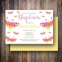 77 best baptism dedication invitations images on pinterest in 2018