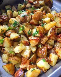 Italienske ovnsbakte poteter med gremata