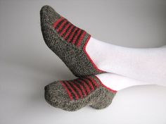 Hand Knitted Woolen Slippers  Winter Cozy Gift  Home by milleta, €18.00