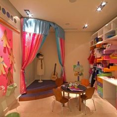 Girl Playroom Design, Pictures, Remodel, Decor and Ideas - page 2