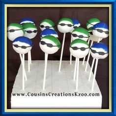 Diving, Swim Team Cake Pops  Cake Pops - Cousin's Creations