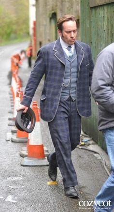 """Matthew filming """"Ripper Street"""""""