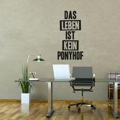 Wandtattoo - Ponyhof