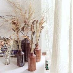 - Best ideas for decoration and makeup - Dried Flower Arrangements, Dried Flowers, Bouquet D'eucalyptus, Bouquet Wedding, Magazine Deco, Deco Floral, Autumn Home, Interior Design Inspiration, Accent Decor