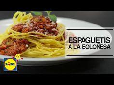 Espaguetis a La Boloñesa Monsieur Cuisine Plus - Lidl España - YouTube