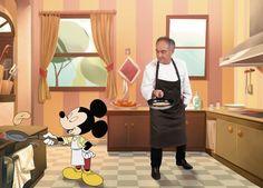 Ferran Adrià vuelve a cocinar para los niños con los personajes de Disney - http://www.conmuchagula.com/ferran-adria-vuelve-a-cocinar-para-los-ninos-con-los-personajes-de-disney/?utm_source=PN&utm_medium=Pinterest+CMG&utm_campaign=SNAP%2Bfrom%2BCon+Mucha+Gula