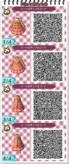 Pink coat with fur trimmed hood and pink pleated skirt Motif Acnl, Ac New Leaf, Animal Crossing Characters, Naruto, Animal Crossing Qr Codes Clothes, Post Animal, Types Of Animals, End Of The World, Designer
