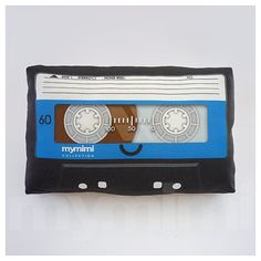 Decorative Pillow, Cassette Tape Pillow, Vintage, Retro, Old School, Mix Tape, 80's, Geek Pillow, Room Decor, Dorm Decor, Toys, 9 x 6""