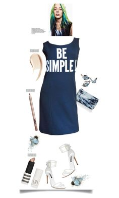 """""""Be Simple'"""" by dianefantasy ❤ liked on Polyvore featuring beauty, Casadei, Topshop, Burberry, Barneys New York, Moschino, hairtrend, polyvorecommunity, rainbowhair and polyvoreeditorial"""
