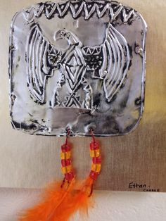 Native American Art. Hopewell 'copper' ornaments.
