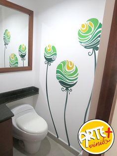 vinilos decorativos baños