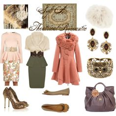 """""""Soft Autumn Theatrical Romantic"""" by thewildpapillon on Polyvore"""