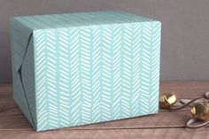 Deck the Shore: Minted Wrapping Paper | CoastalLiving.com