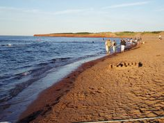 Cavendish PEI Cavendish Beach, Prince Edward Island, The Province, Places Ive Been, Country Roads, Canada, Spaces, Pearls, Water