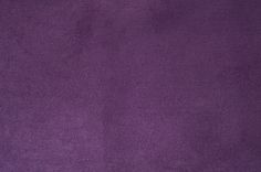 """Faux Suede Crafting Fabric - Purple - 1/2 Yard 62""""+ Pre-Packaged 1/2 yard for $3.50  This is a casual but elegant purple faux suede fabric that coordinates with our faux suede headbands. Craft and create embellishments like flowers or appliques from this 1/2 yard of 62""""+ width pre-packaged fabric."""