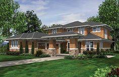 prairie style houseplan