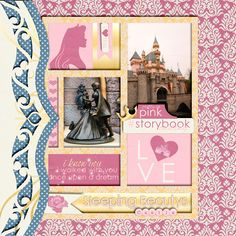 Template: Die Cut Volume 4 by Meagan's Creations http://www.thedigichick.com/shop/Die...Creations.html   Kit: Pocket Princess by Kellybell Designs