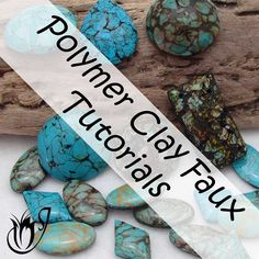 The polymer clay tutorials on this page will focus on one of the most fascinating aspects of this medium - faux techniques. With the right techniques the results can be very effective and in some cases, it's almost impossible to tell the real deal from the polymer clay.