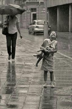 Enjoy the rain! !!