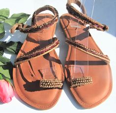 Warm, earthy colours to compliment any outfit. Any size handmade on order. Earthy Colours, Leather Sandals, Compliments, Warm, Handmade, Outfits, Shoes, Fashion, Moda