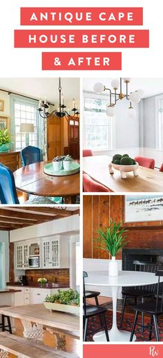 Life Hacks : Illustration Description Reno Addicts, Prepare to Fall in Love with This Antique Cape Before & After #beforeandafter #reno #homedesign #homes #homemakeover #interiors -Read More – - #LifeHacks