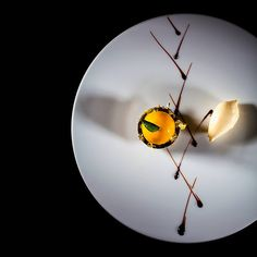 Dominique Gauthier Chef du Chat Botté - Hôtel Beau-Rivage Geneve by LenaKa #plating #presentation