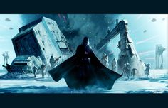 Vader on Hoth - by Livio27