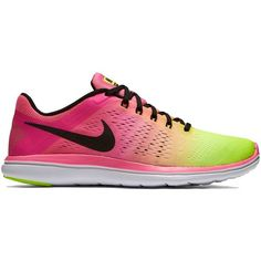 3c6617b912de Nike Flex 2016 RN Women s Running Shoes ( 80) ❤ liked on Polyvore featuring  shoes