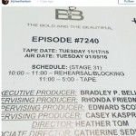 'The Bold And The Beautiful' News: Heather Tom Directs Her First Episode Of 'B