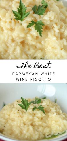 White Wine Risotto, Side Dish Recipes, Dinner Recipes, Side Dishes, Vegetarian Recipes, Cooking Recipes, Easy Food Recipes, Easy Food To Cook, Pasta