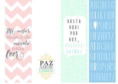 Miss Agenda Limón: DIY Marcapáginas imprimibles y gratuitos