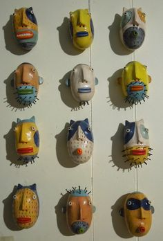 Kim Morton (small masks)
