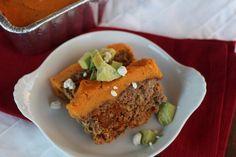 PaleOMG – Paleo Recipes – Spicy Shepherd's Pie Chorizo Meatloaf