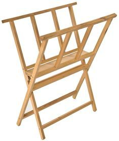 This print rack is ideal for painting, gallery & retail settings! Many types of drying stands & artistic supplies are available through Displays2go.com!