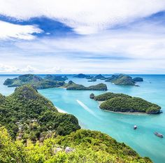 Angthong National Marine Park, Surat thani Province, Thailand.  Photo by runjuanz via Instagram #amitrips #travel #asia