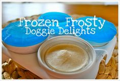 Frozen Doggie Treats
