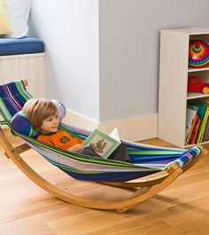 There's nothing quite like kicking back in a hammock—and now, little ones can delight in that comfort in any space with a rocking hammock!