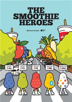 The Smoothie Heroes