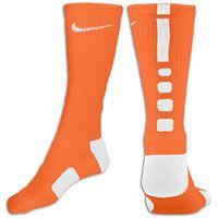 Nike Elite Basketball Crew Socks - Men's - Black/Varsity Red
