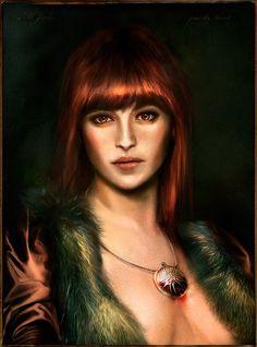 Portrait of M. J. by VirginieCarquin on deviantART