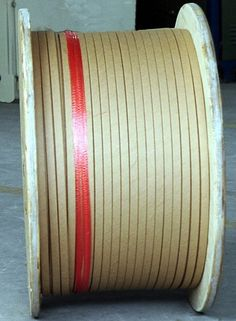 Cable paper covered wire