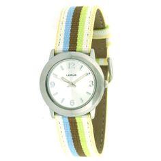 Lorus Ladies Silver Tone Watch LR0914 Lorus. Save 25 Off!. $14.95. Striped Band. Case Diameter 28mm. Quartz Movement. Lorus Ladies Watch. Water Resistant