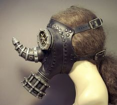 Tom Banwell—Leather and Resin Projects: Why I Make Steampunk Gas Masks